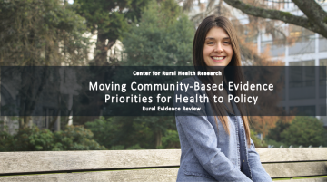 Moving Community-Based Evidence Priorities for Health to Policy