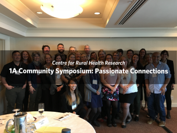 1A Community Symposium: Passionate Connections