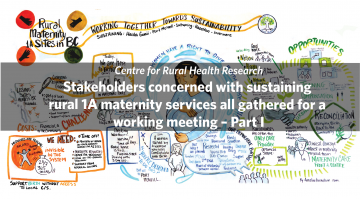 Stakeholders concerned with sustaining rural 1A maternity services all gathered for a working meeting – Part I