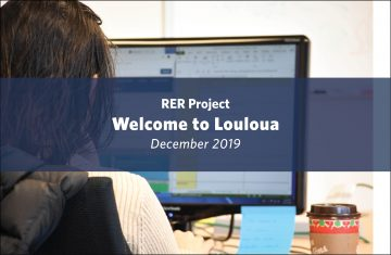 Welcome Louloua: Rural Evidence Review Student Research Assistant