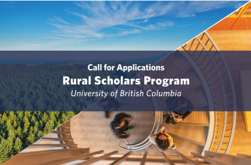 Call for Applications – Rural Scholars Program